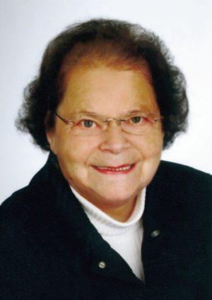 Portrait von Herta Hager