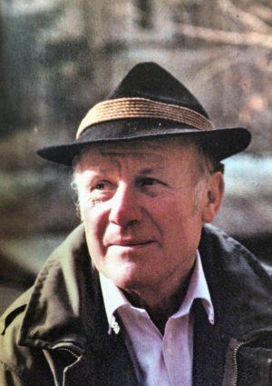 Portrait von Adolf Greisberger