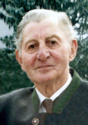 Portrait von Hermann Lackner